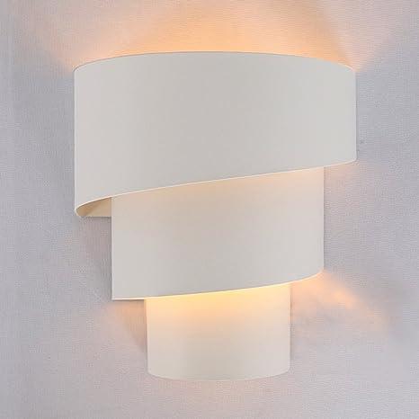 Glighone Aplique de Pared LED 40W Lámpara de Pared Moderna Luz de Puro Aluminio Iluminación Interior para Decoración del Hogar Pared Dormitorio ...