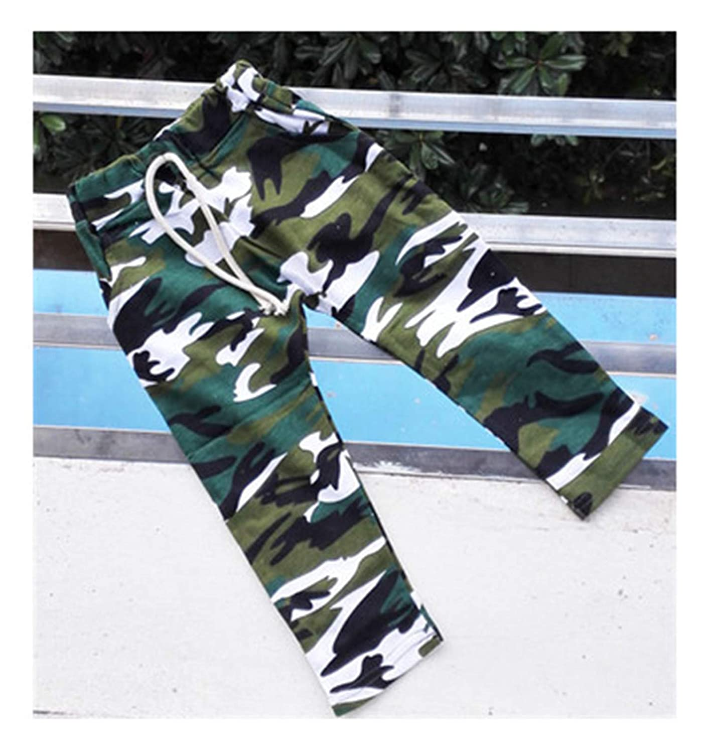 Susie Zechariah Cotton Children Harem Pants for Baby Boys Camouflage Trousers Kids Casual Pants