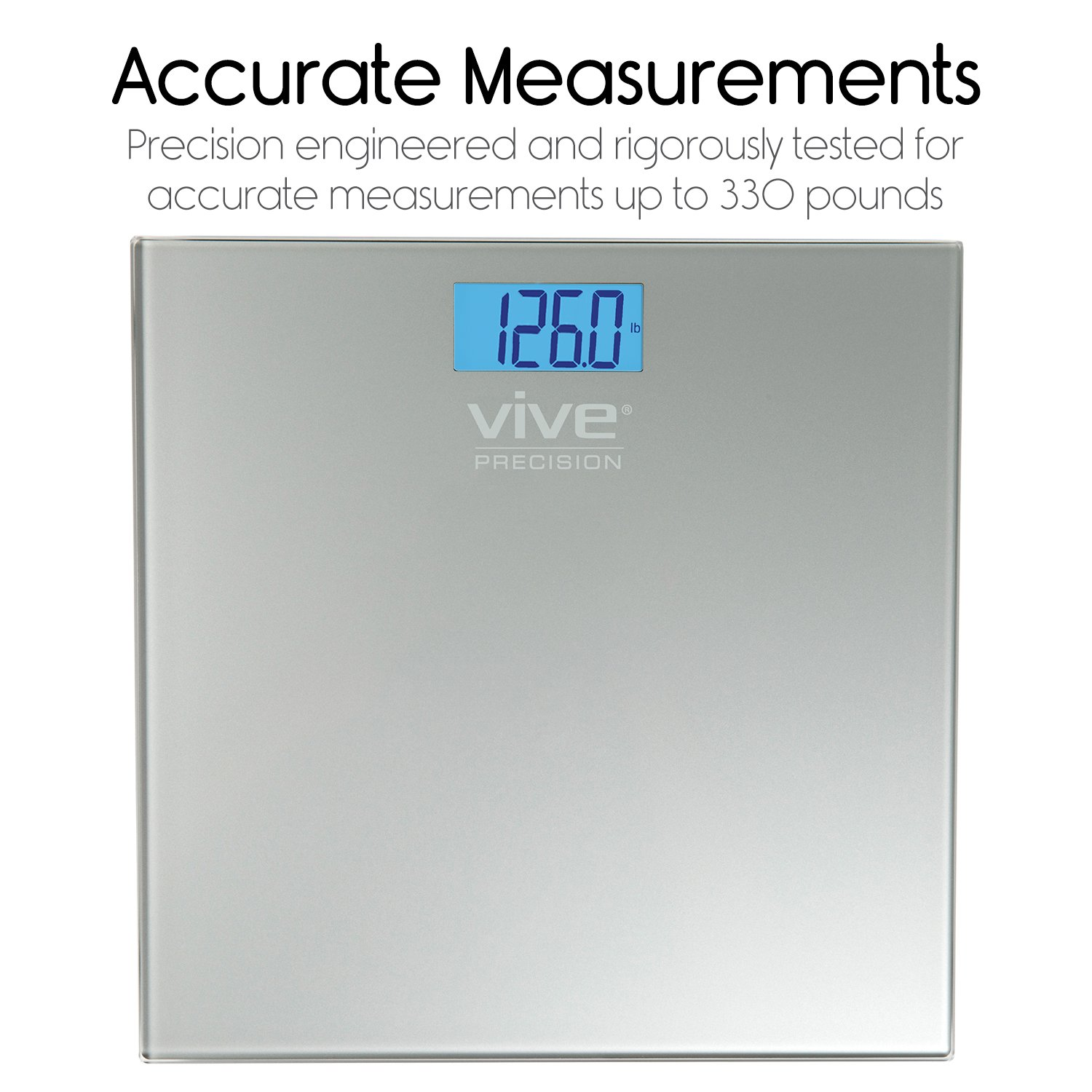 Most accurate bathroom scale 2014 - Amazon Com Vive Precision Digital Bathroom Scale Weight Scale Measuring Device Electronic Body Scale Easy To Read Backlit Display Accurate To 2