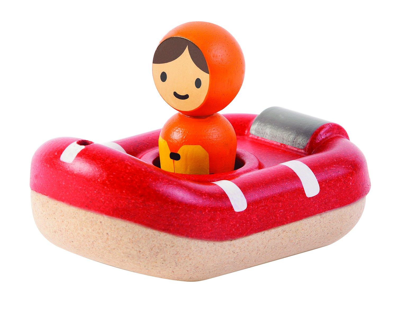 Plan Toys Coast Guard Boat Bath Toy: Amazon.co.uk: Toys & Games