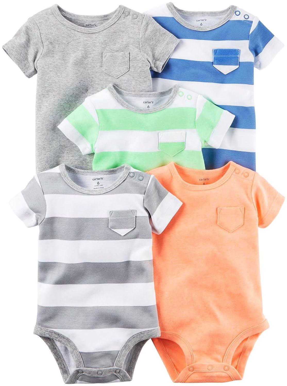 Carters Baby Boys Multi-pk Bodysuits 126g402