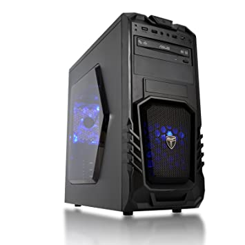 CCL Storm 100 Gaming PC - 3 5GHz AMD A6 9500, Radeon R5 Graphics, 8GB RAM,  DVD-RW, 1TB HDD, Wi-Fi, 3 Year Collect & Return Warranty (No OS)