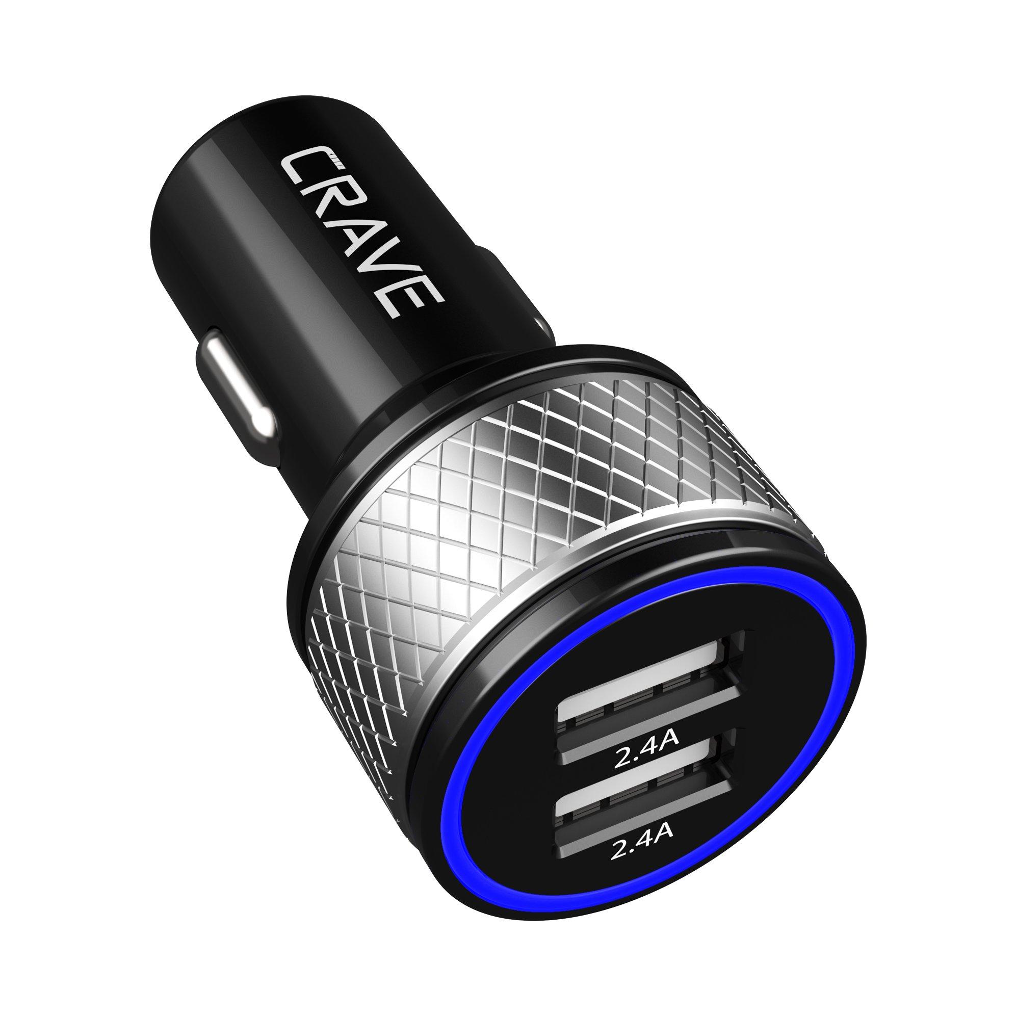 Cargador para Auto USB CRAVE (722XT474)