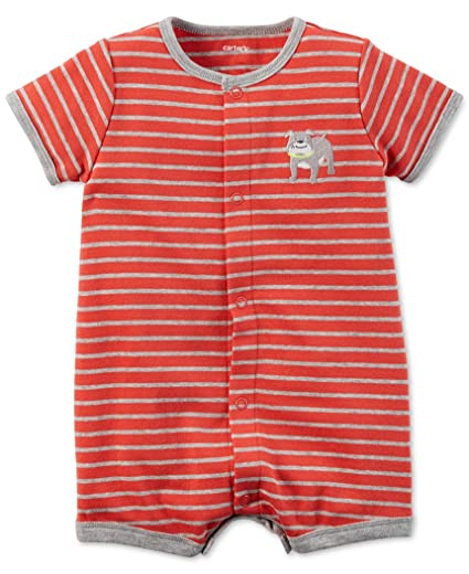 f0da237a9dfa Image Unavailable. Image not available for. Color  Carter s Baby Boy Romper  ...