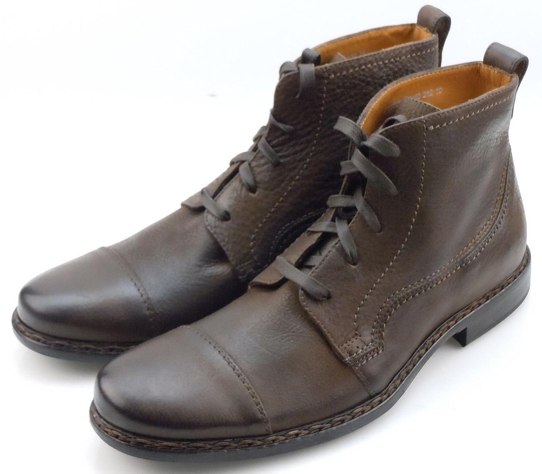 John Varvatos Men's Norwich Wood Brown Oxford Boots