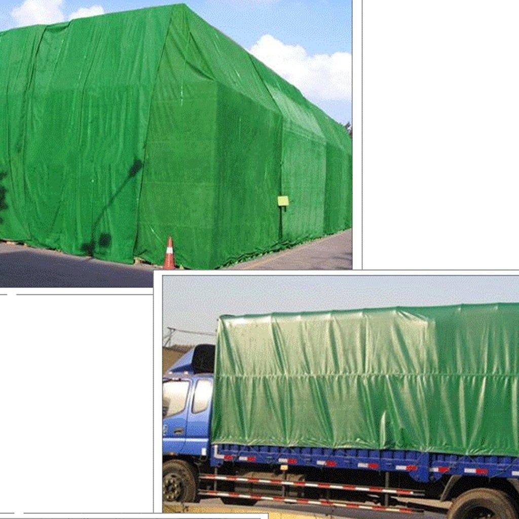 YX-Planen Mehrzweck Plane Plane Waterproof Heavy Duty, 600g   - m², Grün -  100% wasserdicht und UV-geschützt Schutzplane (größe   4m6m) dcfedd