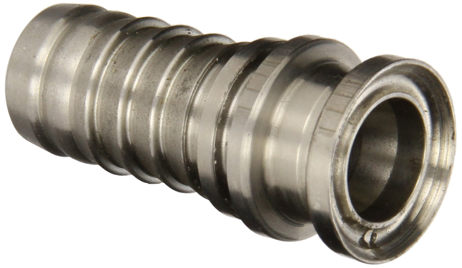"PT Coupling Progrip C50 Crimp System Series Stainless Steel 304 Hose Fitting, Adapter, 1-1/2"" Sanitary Body Tri-Clamp"
