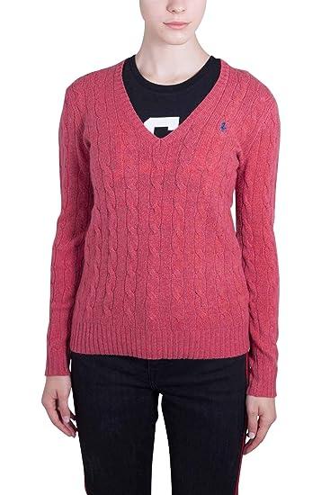 Polo Ralph Lauren - Polo - para Mujer Rojo XL: Amazon.es: Ropa y ...