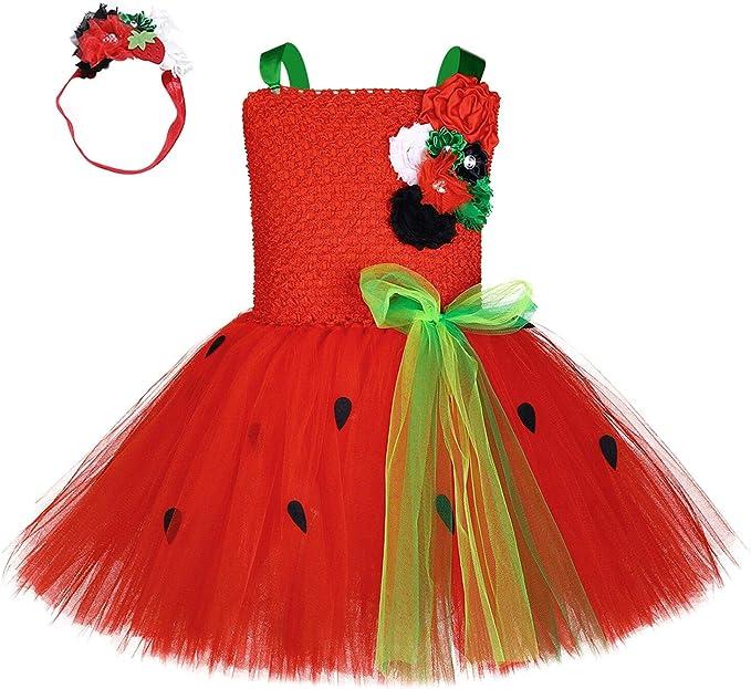 Disfraz de sandía de Fruta para niños, para Halloween, cumpleaños ...