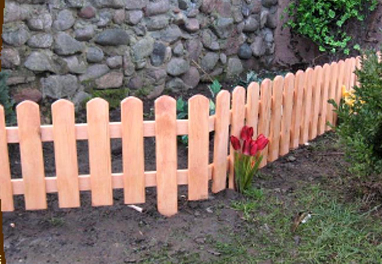 Gartenzaun mini 2 Amazon Garten