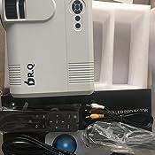 Proyector DR.Q HI-04 con Pantalla de Proyección, Proyector de ...