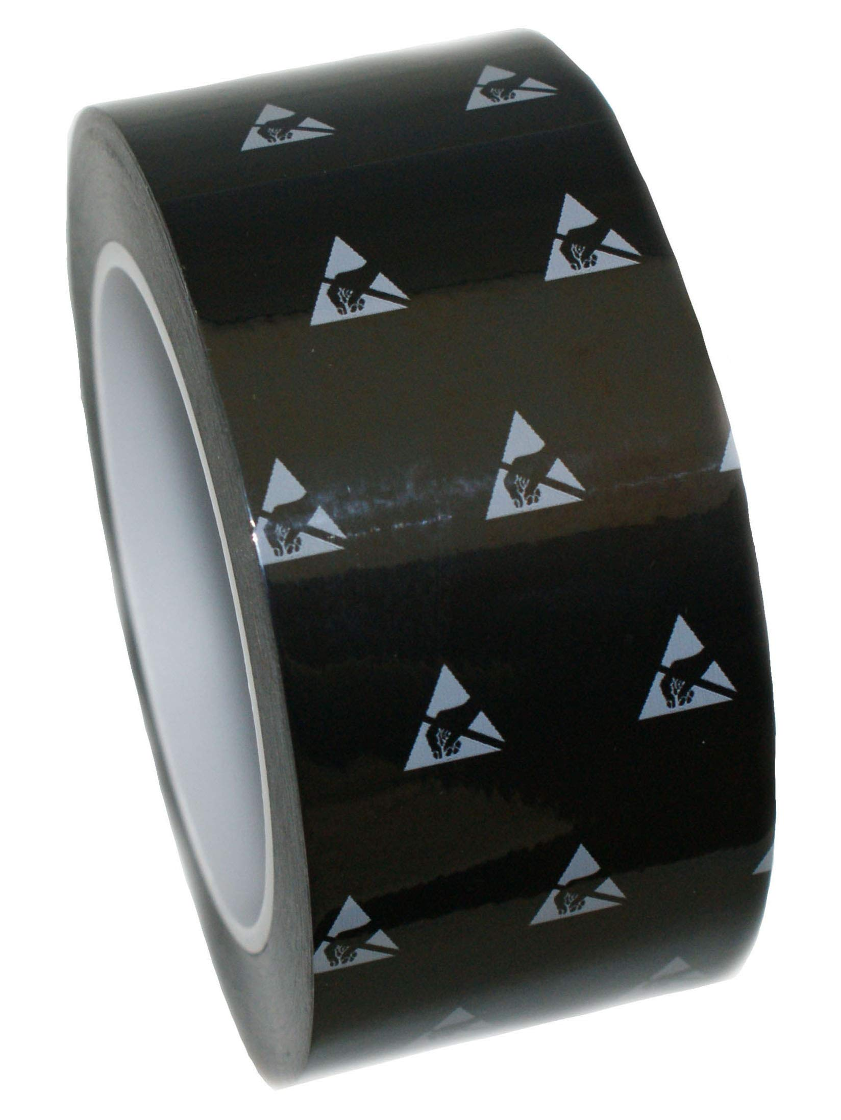 1 Roll UltraTape 2265 Anti-Static Cleanroom Marking Tape | ESD S20.20 and ISO Class 7-8 Compliant | Classic Clean | Black | 2 Inch | 0265BK200-P3S