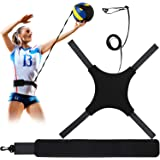 Volleyball Training Equipment Aid, Soccer Solo Practice Trainer for Serving, Arm Swings, Setting and Spiking, Solo Serve…