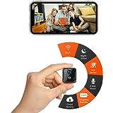 CreateGreat Mini Wi-Fi Camera,Portable Wireless Battery Security Camera,1080P Video,2-Way Audio,PIR Motion Detection,Night Vi