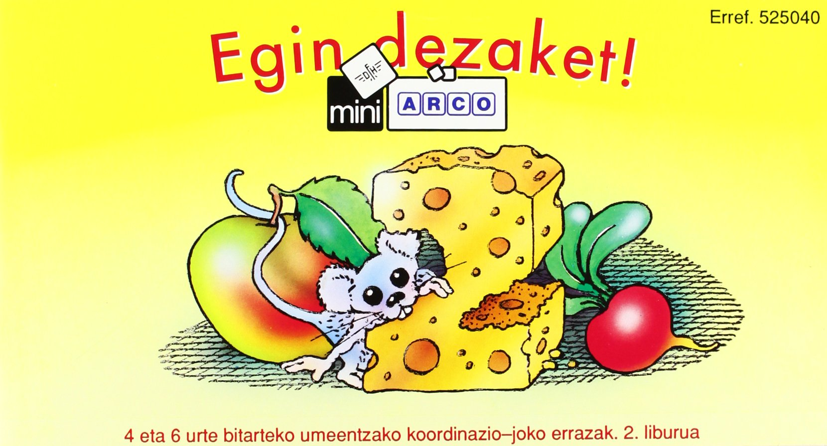 Egin dezaket 2 (Mini arco): Amazon.es: Vogel, H., Vogel, H., Elhuyar: Libros