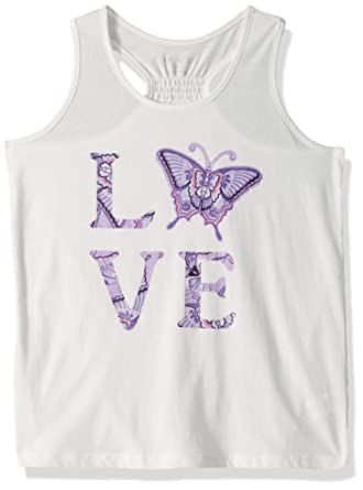 The Childrens Place Girls Graphic Tank Tops