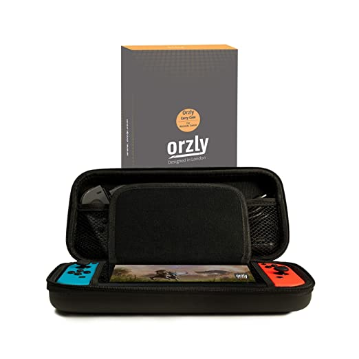 44 opinioni per Custodia da viaggio Orzly compatibile con il Nintendo Switch- Guscio protettivo