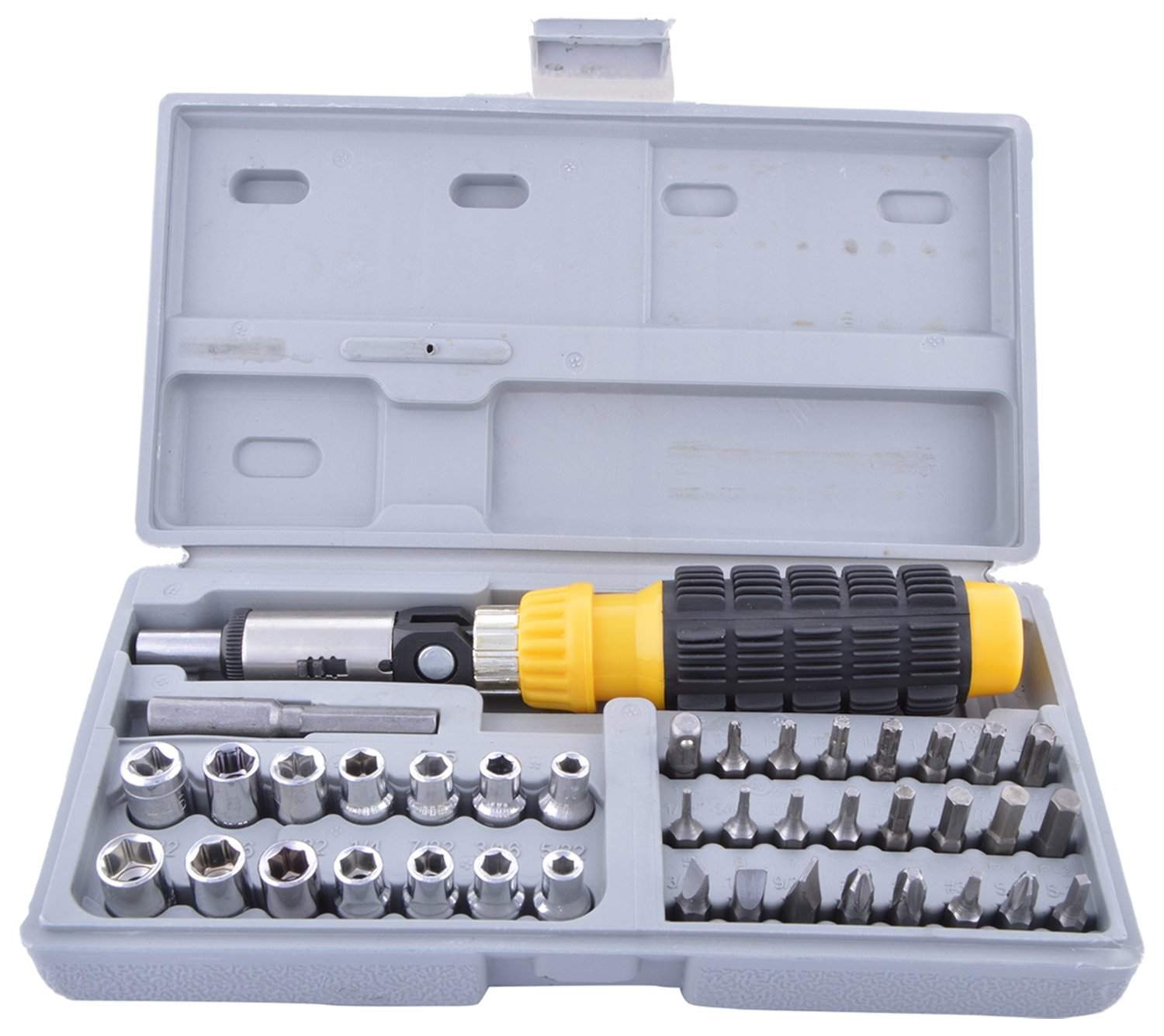 AIWA 41-Piece Bit & Socket Set ( Pack of 7 Sockets)