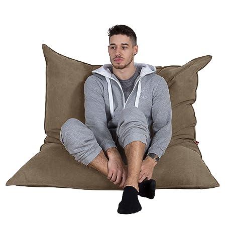 LOUNGE PUG® - DENIM - EXTRA Large Bean Bag Floor Cushion - XXL ...