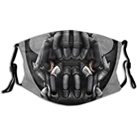 Bane Face Mouth Bandana For Dust Protection Face Bandana Washable Earloop -Pm2.5 Filter Chip