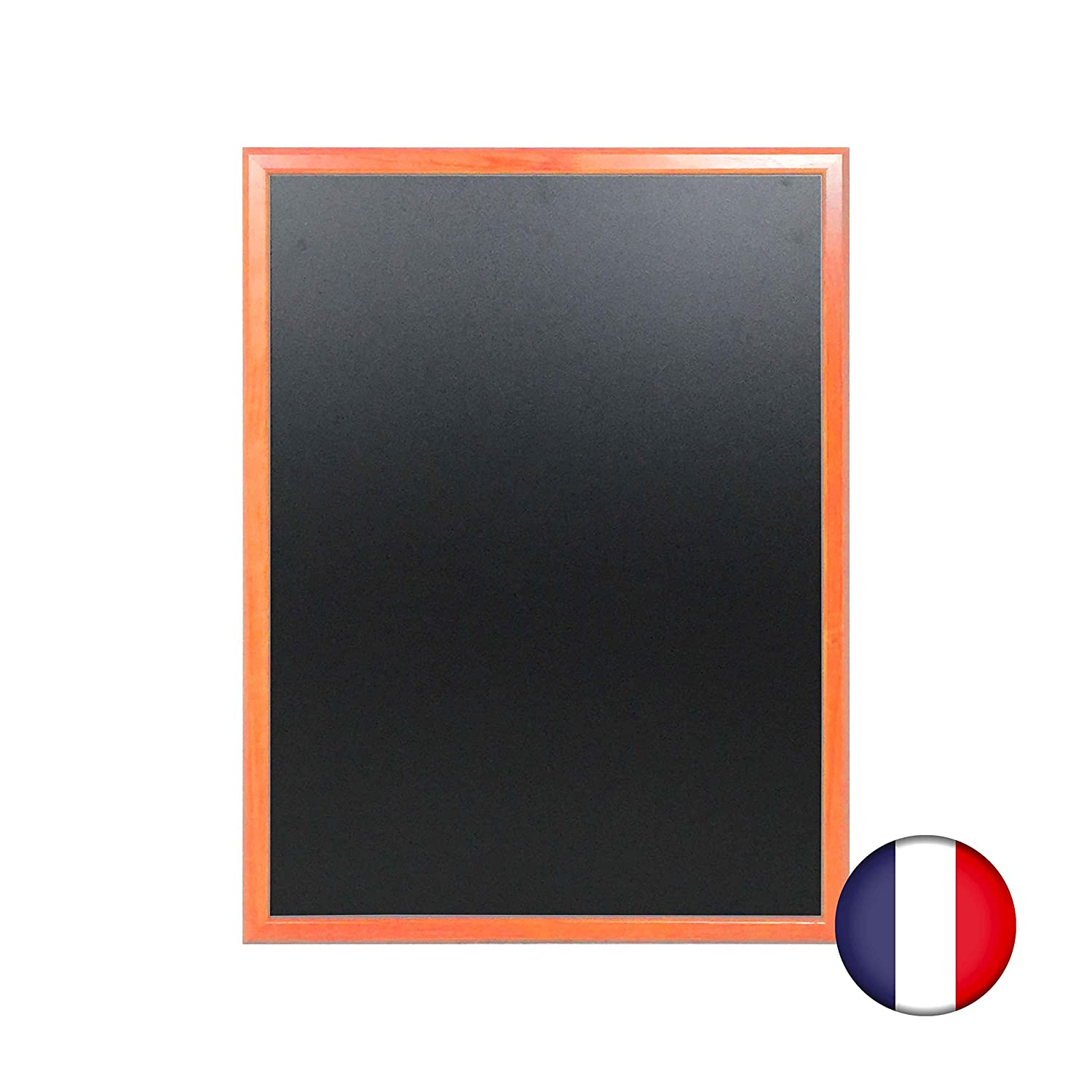Pizarra de pared de madera color naranja dimensiones 86 x 66 ...