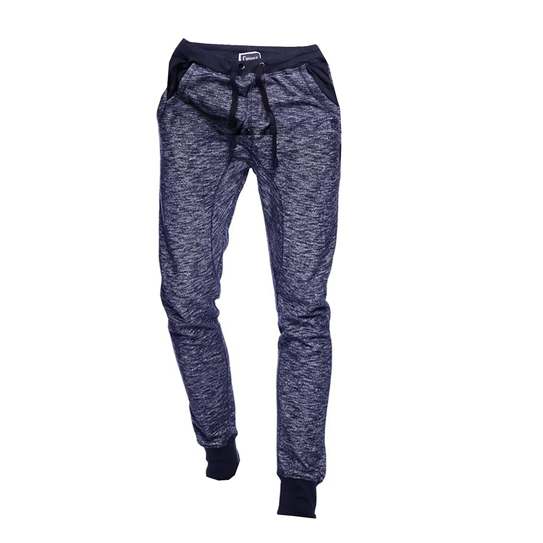 Mens SoulStar Tracksuit Slim Fit Sweatpants Crew Neck Sweatshirt Loungewear