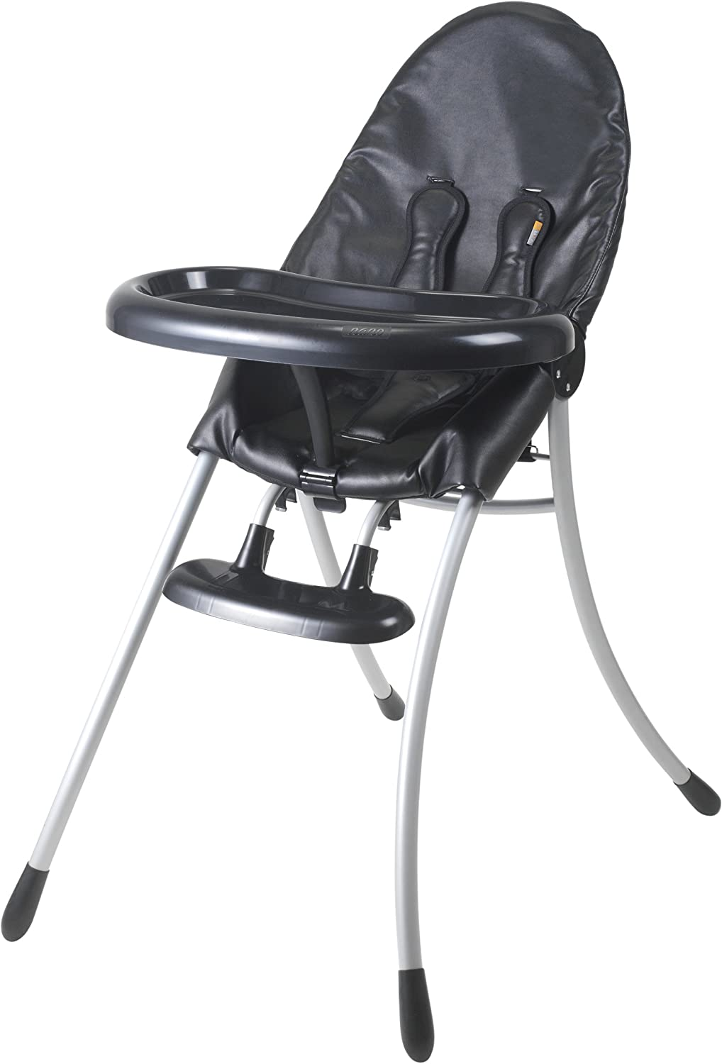 Nano Urban Highchair Matt Black Frame w// Midnight Black by bloom