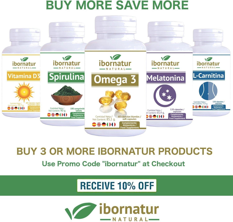 Espirulina comprimidos|Spirulina 100% natural|Ayuda a equilibrar la Dieta y el Peso|Nutrientes y proteínas vegetales Apta para veganos|Proporciona ...