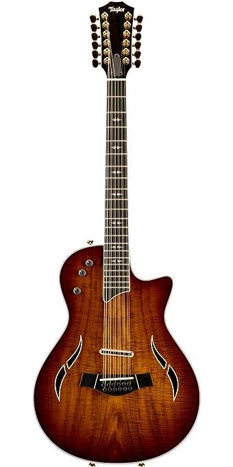 Taylor t5z Custom KOA superior guitarra electroacústica guitarra de 12 cuerdas: Amazon.es: Instrumentos musicales