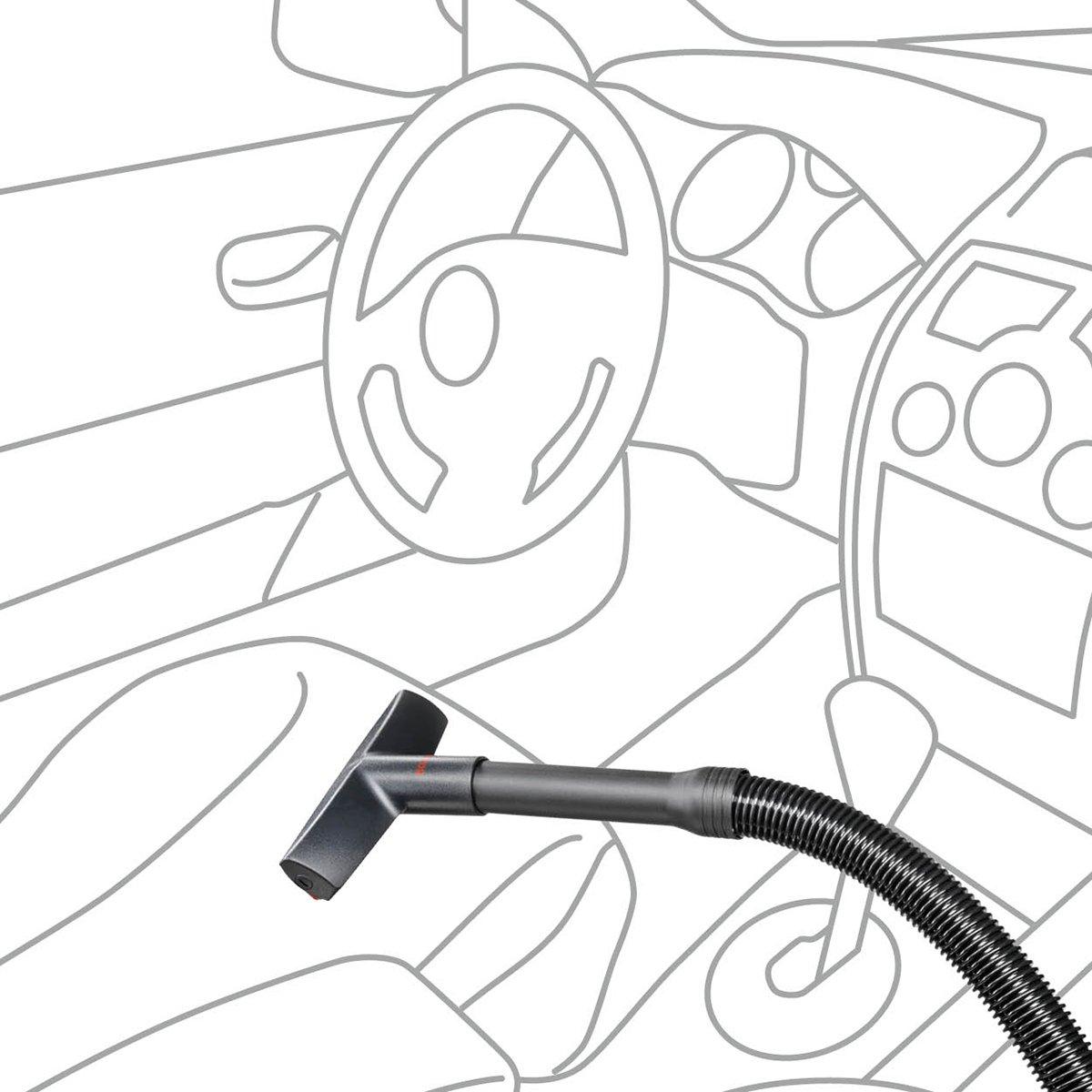 Bosch BHZPROKIT Kit de accesorios para aspiradora 7800 W Pl/ástico Negro