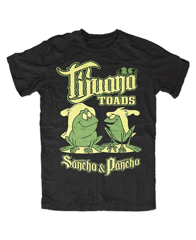 Chaoshju Tijuana Toads T Shirt S Summer Fashion T Schwarz Kult Fr Sche Frog Fun Sa
