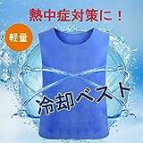 JianFeng(ジャーフー) 熱中症対策グッズ 冷却ベスト クールベスト 工事現場 作業用 男女兼用 暑さ対策 軽量