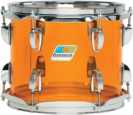 Juego de Ludwig de color ámbar Vistalite Zep 5 piezas Drumset: Amazon.es: Instrumentos musicales