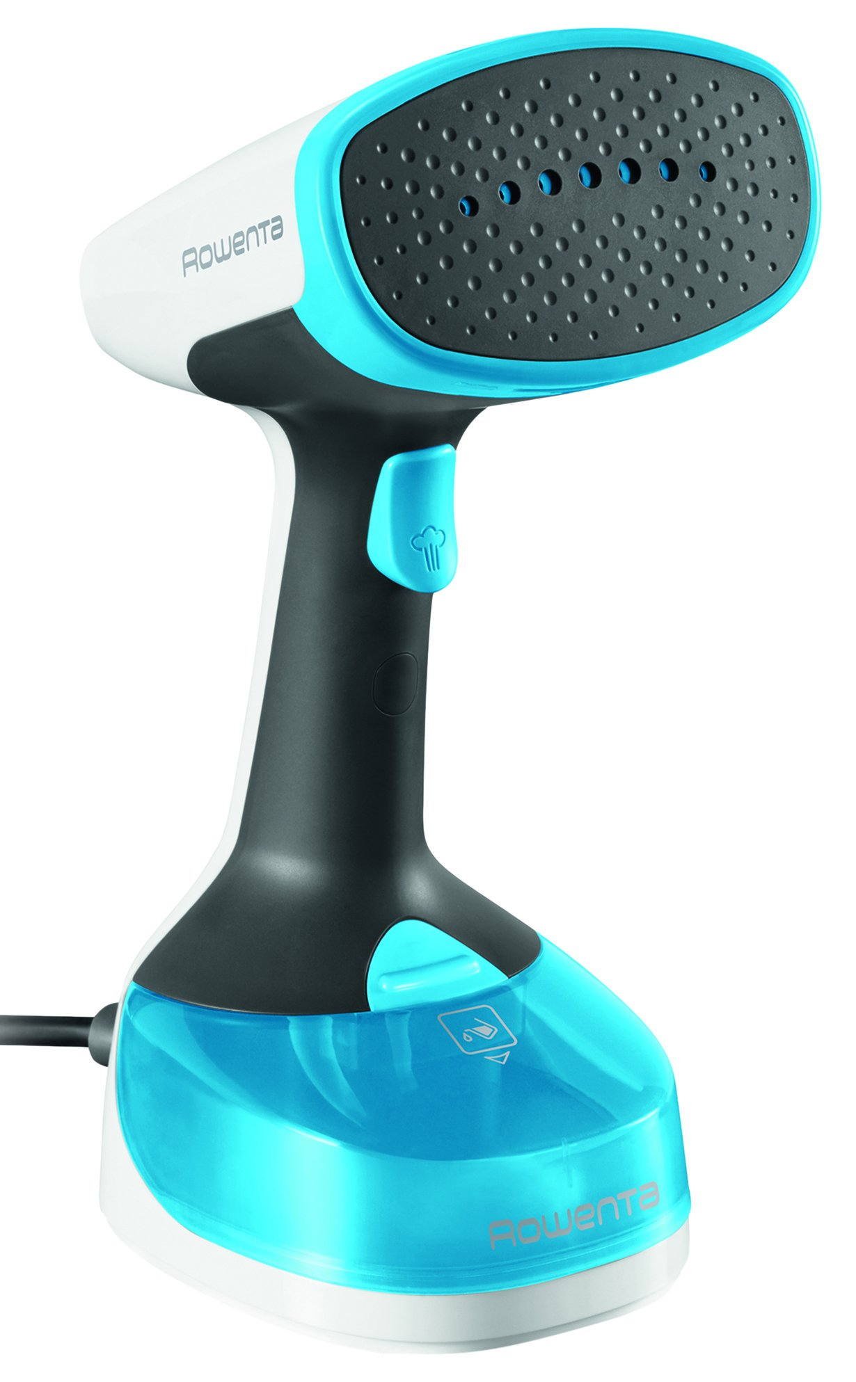 Rowenta Xcel Steamer, Handheld Steamer with Fabric Brush and Steam Bonnet, Blue