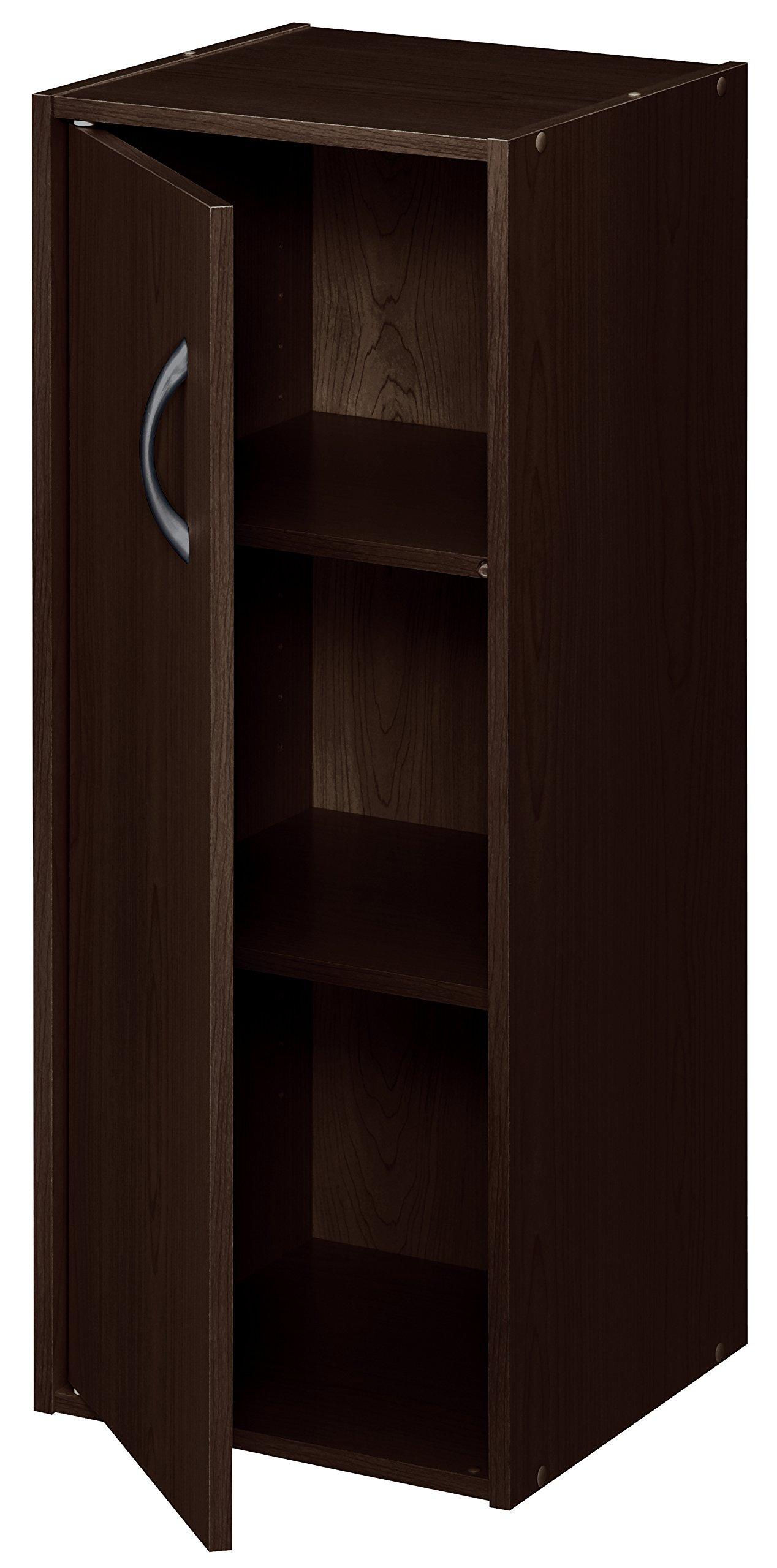 ClosetMaid 8991 Stackable 1-Door Organizer, Espresso by ClosetMaid