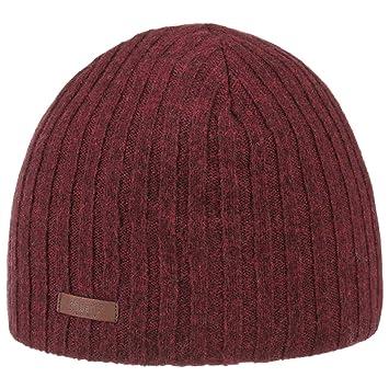 9cb117c9790 Barts Haakon Lambswool Knit Hat Winter Beanie Men´s (One Size - Bordeaux)