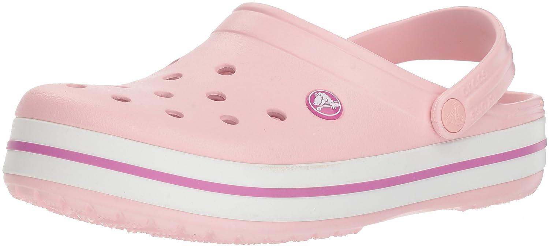 Crocs Crocband Clog, Zuecos Unisex Adulto 45/46 EU Rosa (Pearl Pink/Wild Orchid)