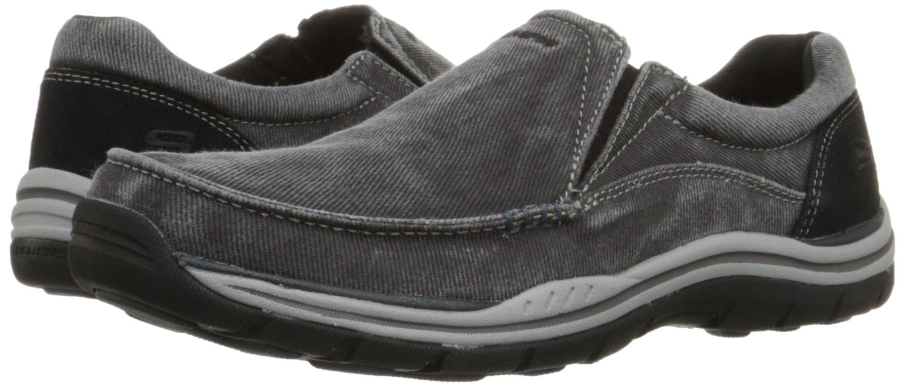 Skechers Men's Expected Avillo Relaxed-Fit Slip-On Loafer,Black,13 M US by Skechers (Image #6)
