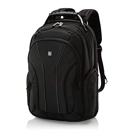 5557df07f23abb Amazon.com  LEVEL8 Travel Laptop Backpack Bussiness Computer Bag For ...