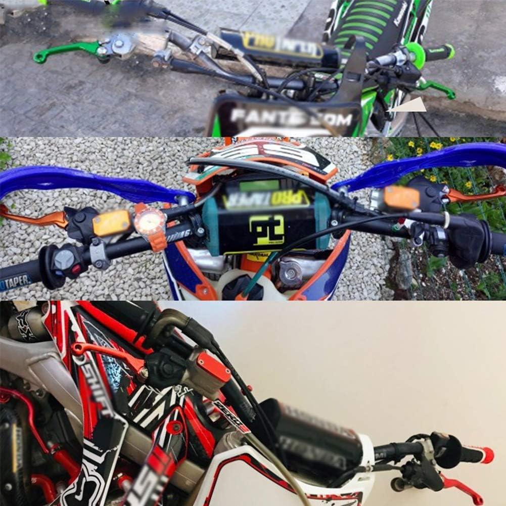 Passend F/ür K/&awasaki KLX 125 KLX125 D-TRACKER125 2010 2011 2012 2013 2014 2015 2016 YOUFUDE Brems-Kupplungshebel Motorrad CNC Faltkot