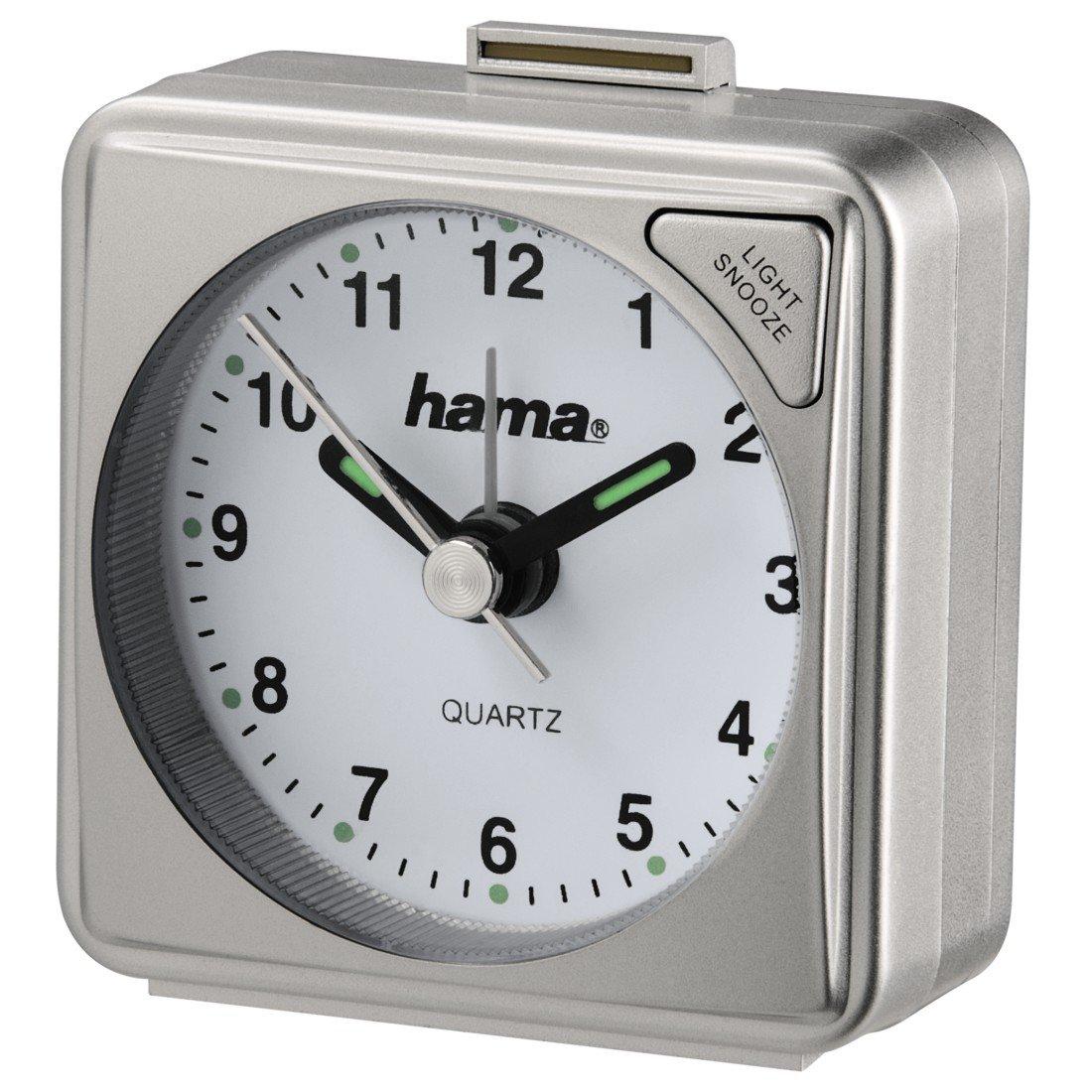 De pl/ástico Hama A50 Despertador Negro