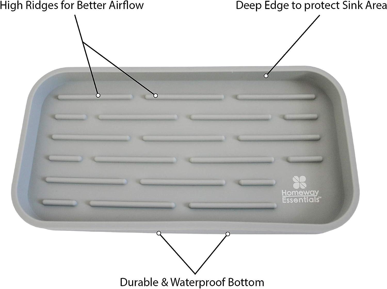 Amazon.com: Bandeja de soporte de esponja – Organizador de ...