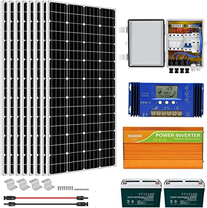ECO-WORTHY 1500 Watt Off Grid Solar System