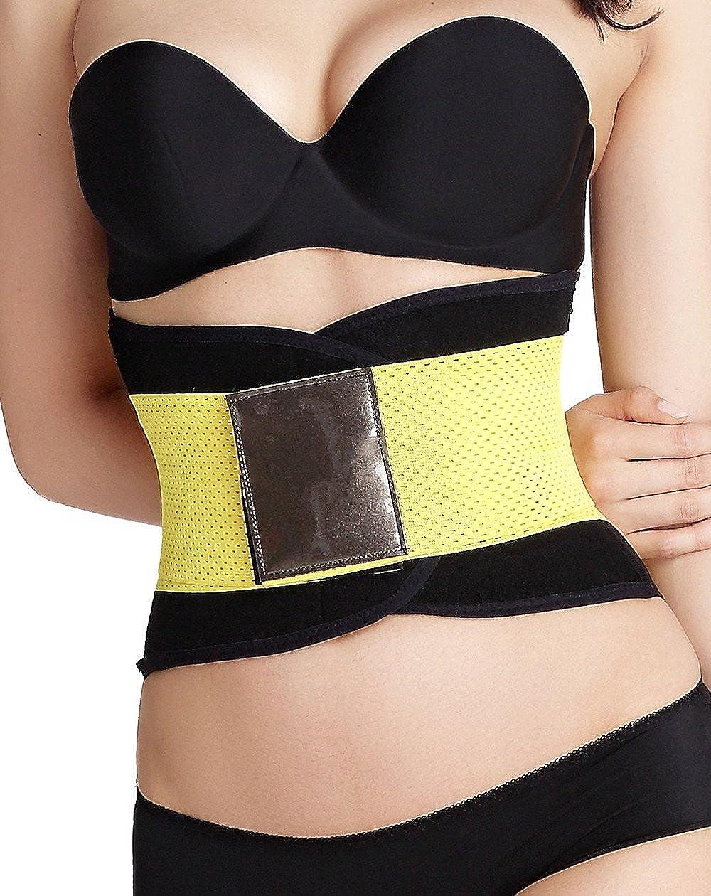 GIRL MELODY Women Adjustable Waist Trainer Weight Loss Belt Waist Trimmer