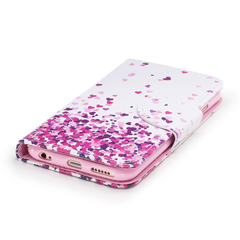 c02744a78268 Housse de téléphone pour iPhone 6  6S,Etui iPhone 6S  6 Coque en PU ...
