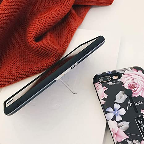 Amazon.com: Carcasa para iPhone X, diseño de flores: Cell ...