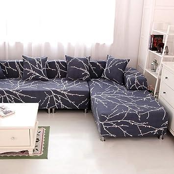 Amazon De Hysenm 1 2 3 4 Sitzer Sofabezug Sofauberwurf Stretch