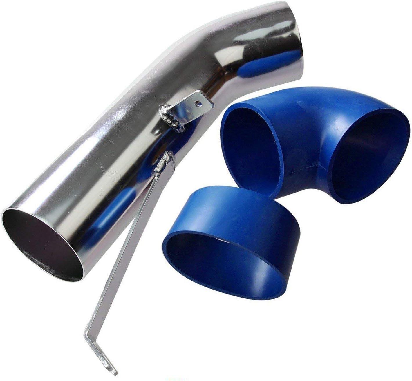Dromedary Blue Heat Shield Cold Air Intake For Silverado 4.8L//5.3L//6.0L 4 2003 2004 2005 2006