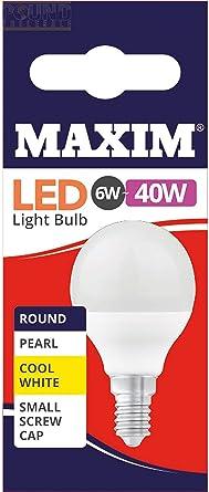 3W 10 pc SES Fitting Edison Screw Warm White Status Maxim LED Candle