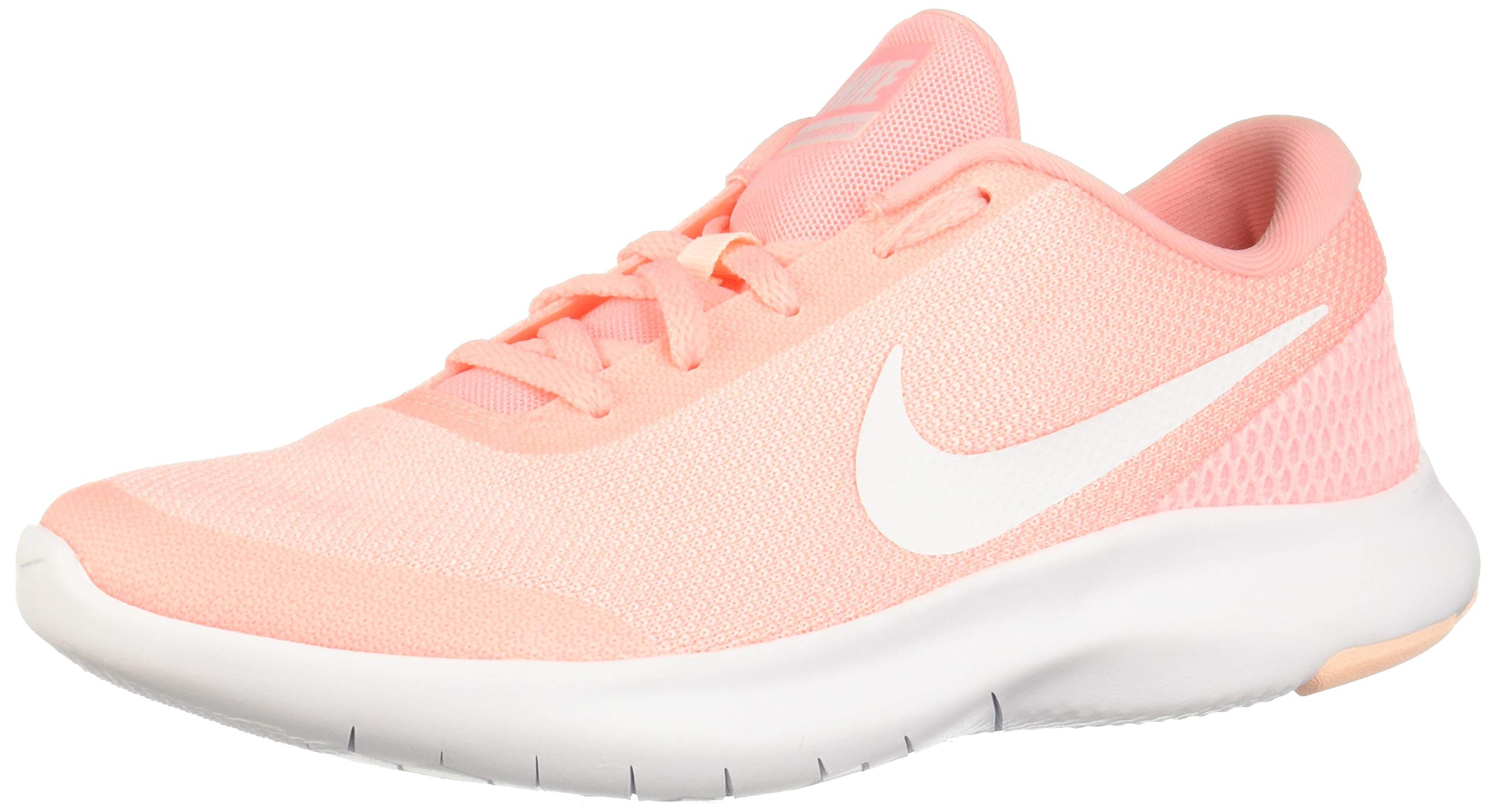 new arrivals c49f2 84618 Galleon - NIKE Women s Flex Experience Run 7 Shoe Pink Tint White-Crimson  Tint (8 B(M) US)